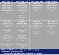 Glendale Summer Programs