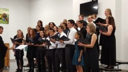 Arete Hosts First-Ever Faculty-Staff Choir Concert