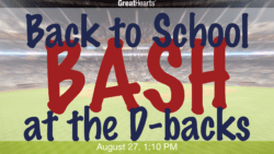 Back to School Bash at the D-backs