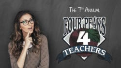 Four Peaks 4 Teachers