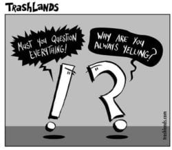 A joke about punctuation