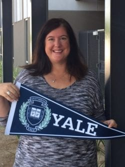 Trivium Prep Yale Educator Award for Mrs Jennifer Luque