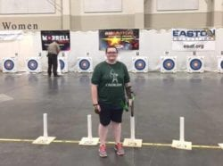 8th Grader, Ciara Glackin, Qualifies for the World Archery Championship