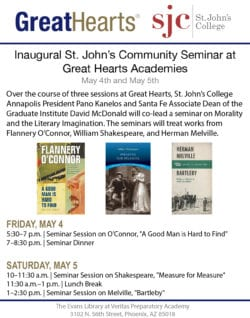 Inaugural St. John's Community Seminar at Great Hearts Academies