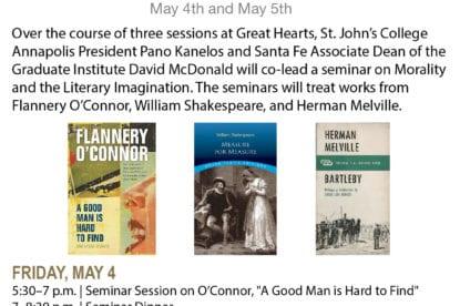 Inaugural St. John's Community Seminar at Great Hearts Academies