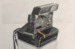 An old style camera