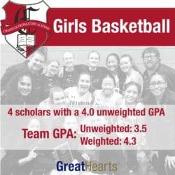 Chandler Preparatory Academy Girls Basketball poster