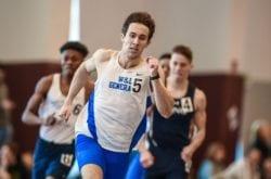 Fiore running a race