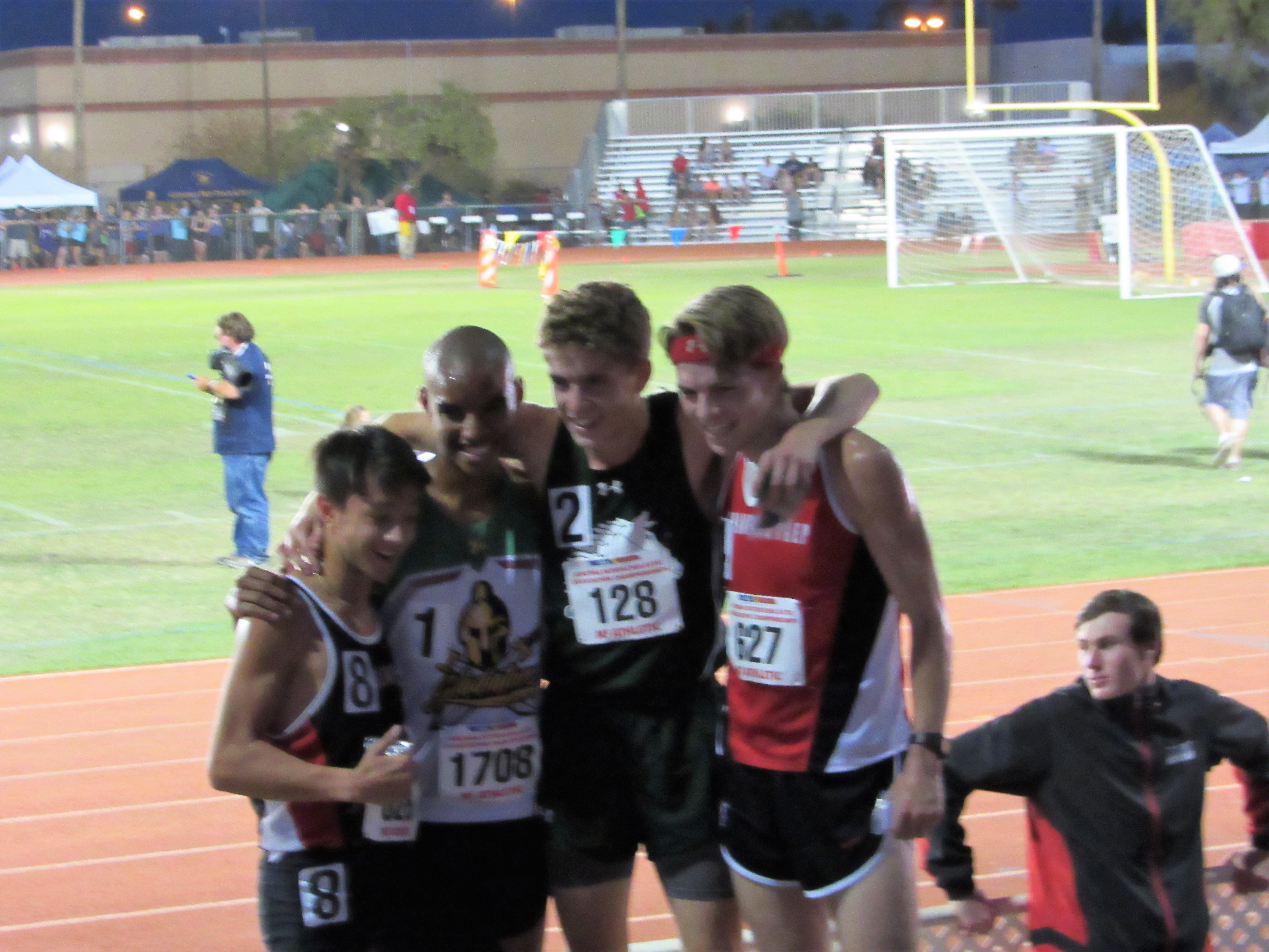 Great Hearts takes top four positions in 3200 meter
