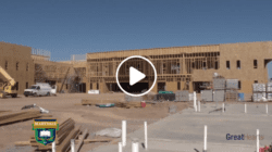 Maryvale Academy Construction site during building