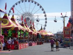 Tents, rids, and crowds all at the state fair