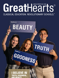 Great Hearts 2017-2018 Annual Report of charter schools around me.