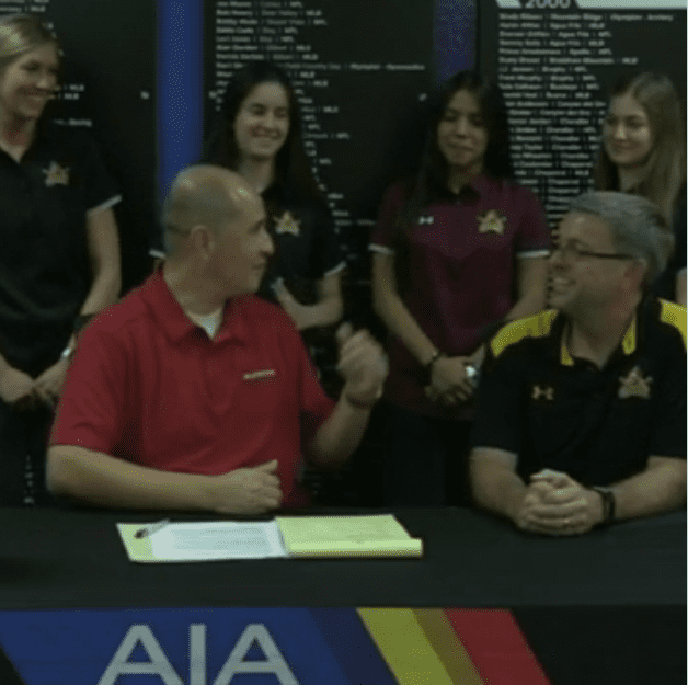 North Phoenix Prep's volleyball team was featured on the AIA Volleyball Bracket Show