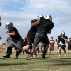 Trivium Prep football practice