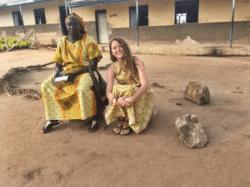 Emily Michael in Uganda