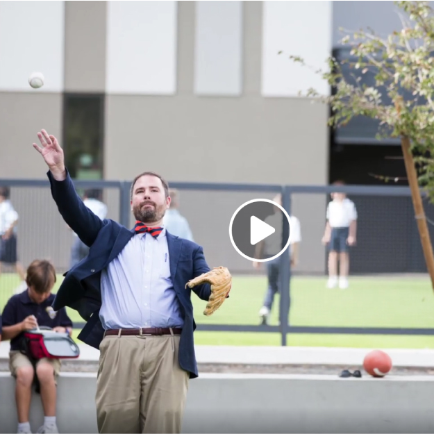 Get to know Lincoln Preparatory Academy's headmaster, Dr. Ben Mitchell