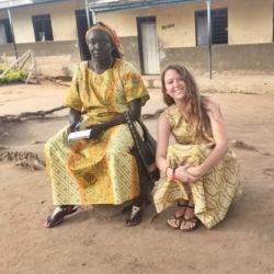 sitting in Africa