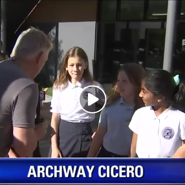 Fox 10 Visits Archway Cicero and Cicero Preparatory