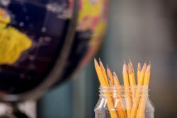 Pencils in a jar