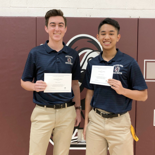 Trivium Prep seniors recognized as National Merit Scholarship Finalists