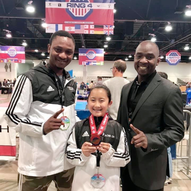3 Scottsdale Prep students competed at the 2019 USA Taekwondo US Open