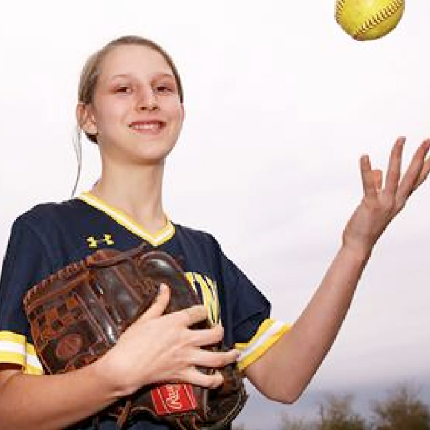 Glendale Prep's Gabby Stallard isn't limited on the softball field