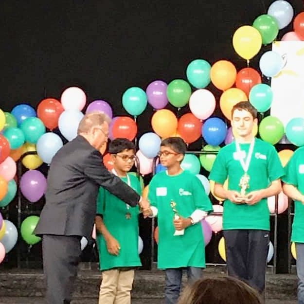 Archway Trivium East 5th grader, Srihaas Ghanta, is first runner up in the 2019 Arizona State Spelling Bee!