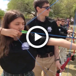 Arete Prep Archery Team
