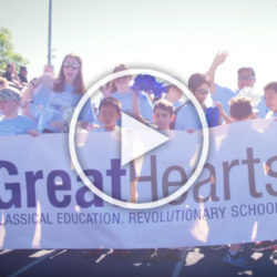 Great Hearts Texas students at Special Olympics