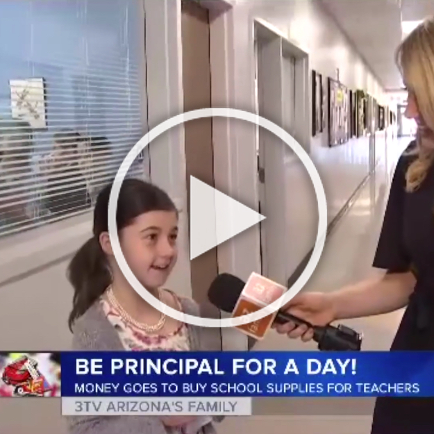 Archway Glendale 3rd grader gets to