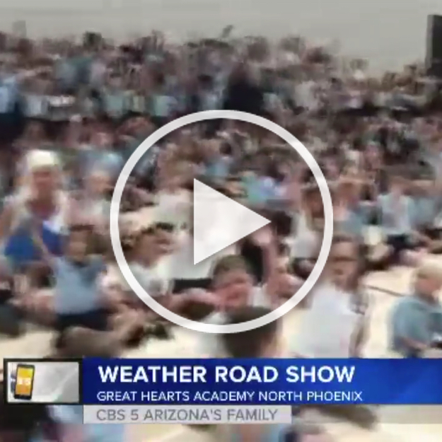 CBS 5 took their Weather Road Show to Archway North Phoenix