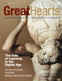 Great Hearts annual report volume 4 cover