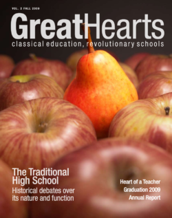 Great Hearts annual report volume 2 cover