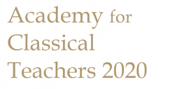academy for classical teachers 2020 logo