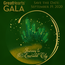 great hearts gala logo green