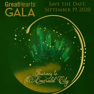 great hearts gala green logo