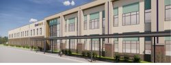 Great Hearts Arlington building rendering