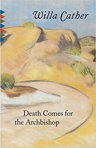 book cover - death comes for the archibishop