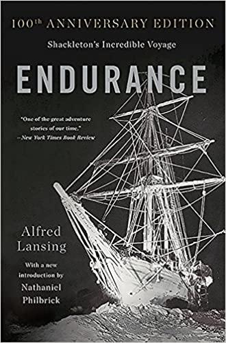 book cover - Endurance
