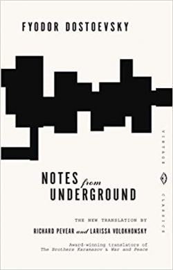 book cover - notes from underground