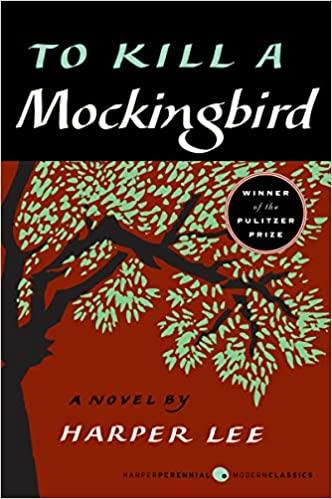 Book cover - to kill a mockingbird