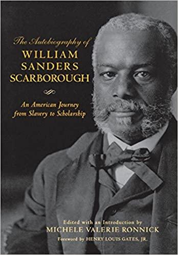 book cover - William Sander Scarborough